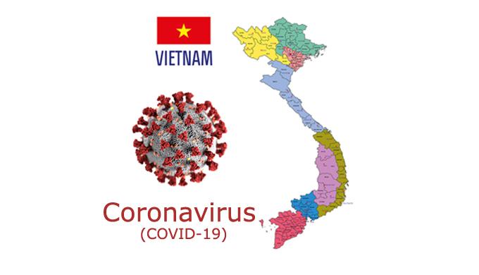 vietnam Coronavirus map